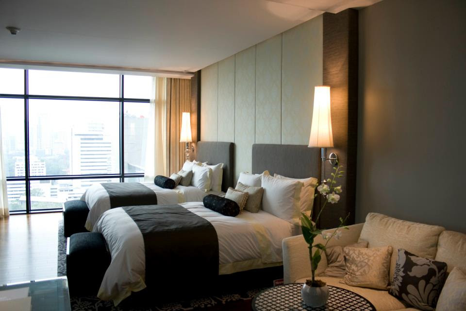 OUR ROOM AT THE ST. REGIS, BANGKOK