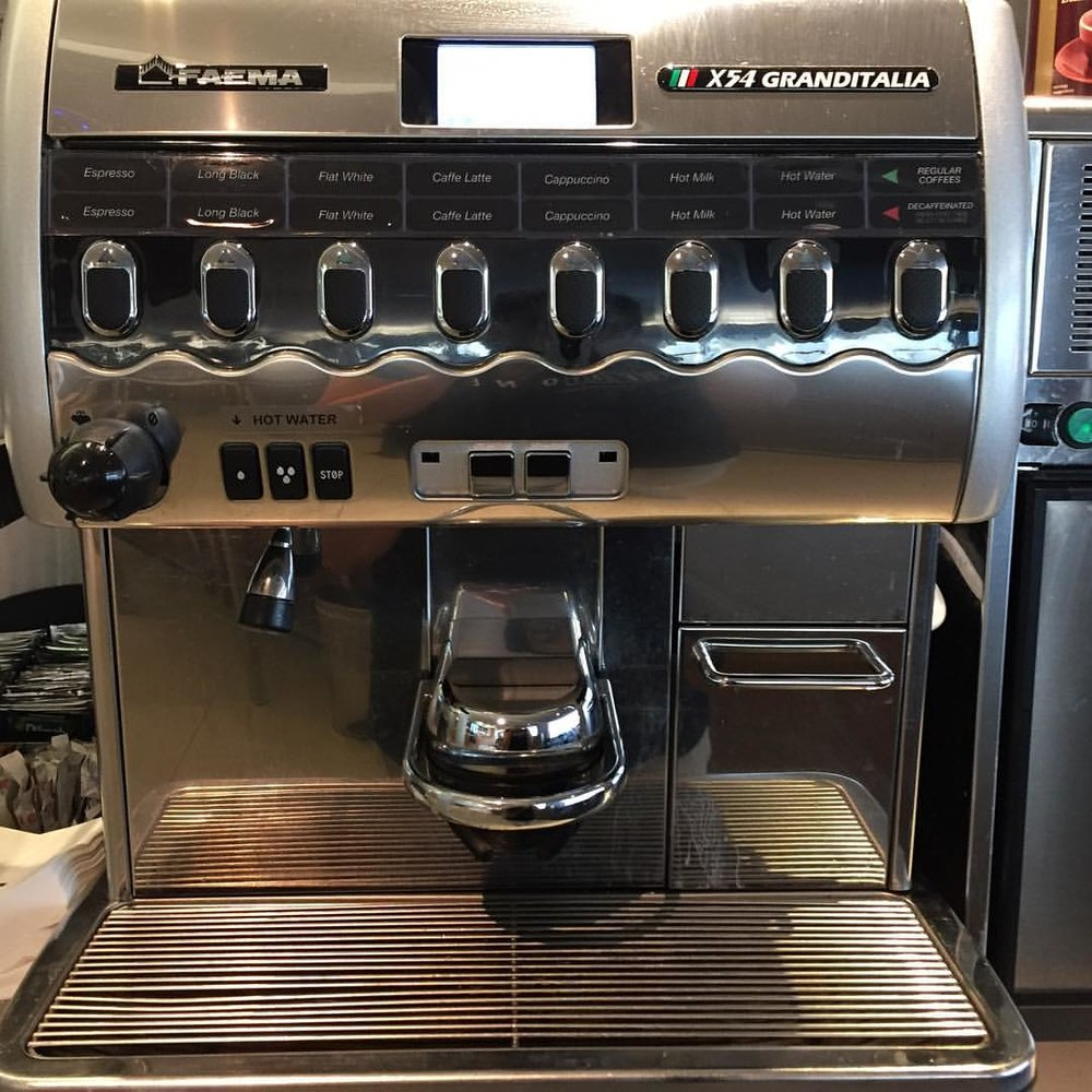 BEAST OF A COFFEE MACHINE