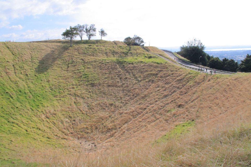 MOUNT EDEN CRATER