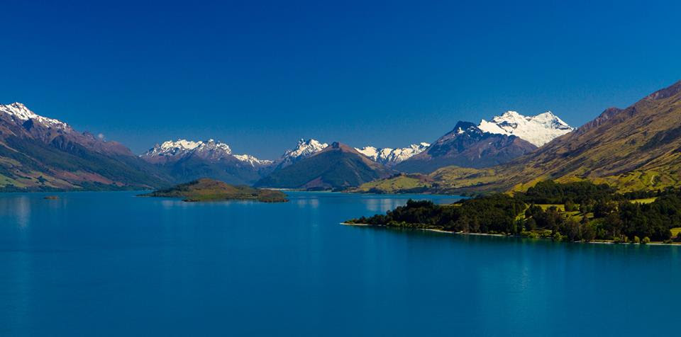 SCENIC ROUTE TO GLENORCHY FROM QUEENSTOWN