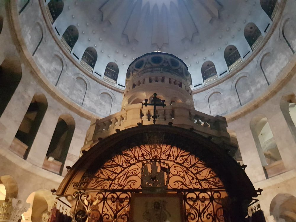 Church of the holy sepulchre. Copyright: Sherry Bekhet