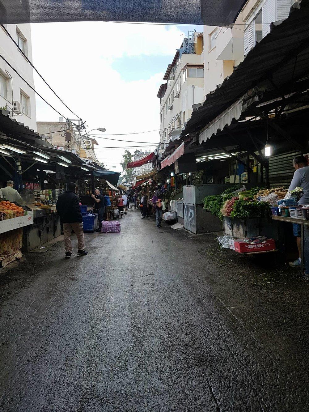 Carmel Market. Copyright: Sherry Bekhet