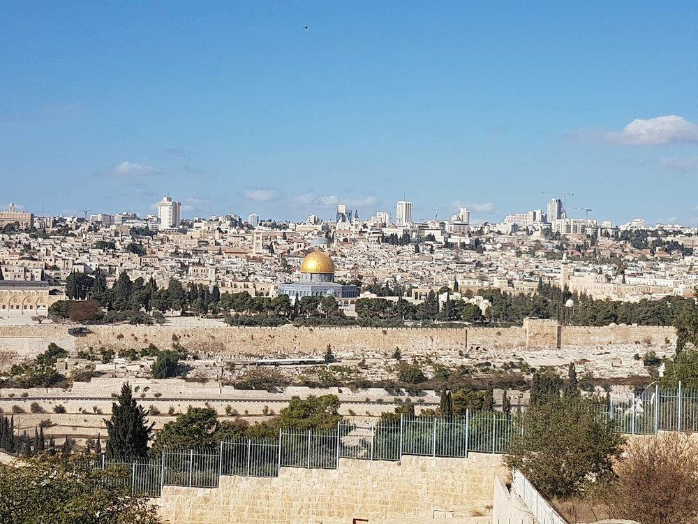 Top of Mount Olives. Copyright: Sherry Bekhet