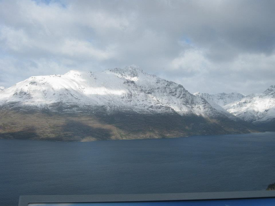 LAKE WAKATIPU FROM THE CABLE CAR LANDING