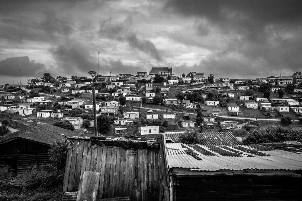 Concordia township Knysna, Western Cape