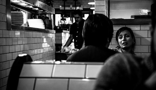 """""""The Cafe""""  commended as top 50 in the world, in the awards' Open Street Photography category."""