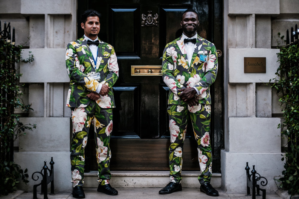 The Floral Doormen - Mayfair, London 2018