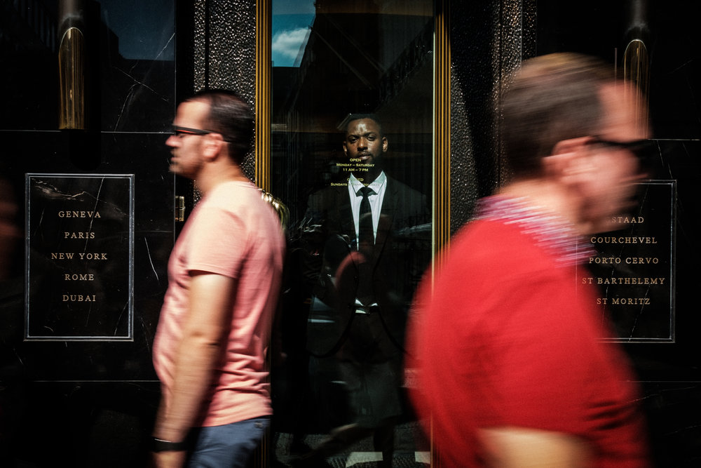 The look of the Doorman PTII - Mayfair, London 2018