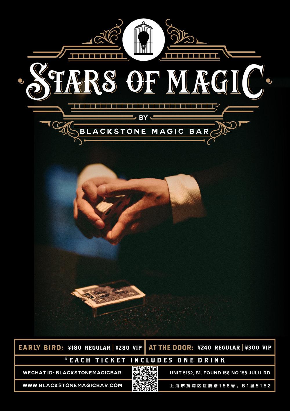 BLACKSTONE LIVE - STARS OF MAGIC