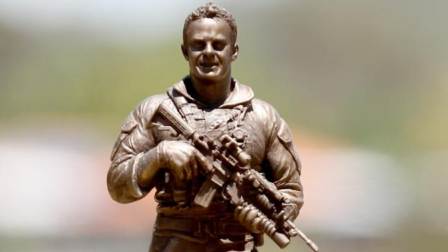Naked Army Cameron Baird Sculpture