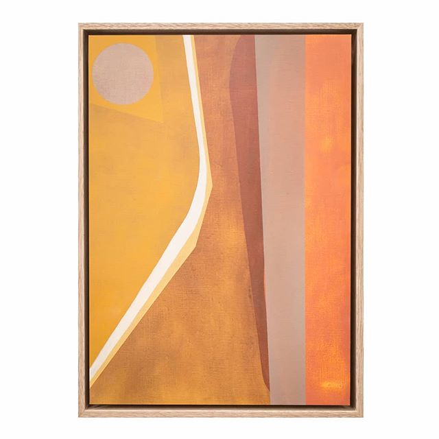 One of our faves by Gorman Clothing collab artist @carolinecollom • A setting sun, or an homage to mid century design ~ 'History' is oil on mounted paper, 33 x 45cm, $680 • Contact us for enquiries and view more on our website in bio . #carolinecollom #emergingartist #gormanartist #gormanclothing #sunset #settingsun #sun #sunspot #sunlight #midcenturydesign #design #midcentury #70saesthetic #midcenturyline #texture #contemporaryabstract #abstractlines #history #layeredcolour #sydneycreatives #sydneyartist #newfave #earthtones #orangepop #coral #pantone2019