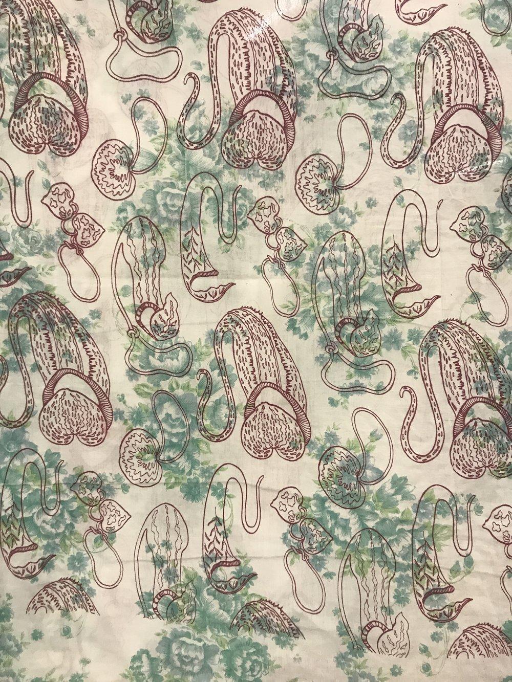 Malaysian Purse Plant – Used Fabric