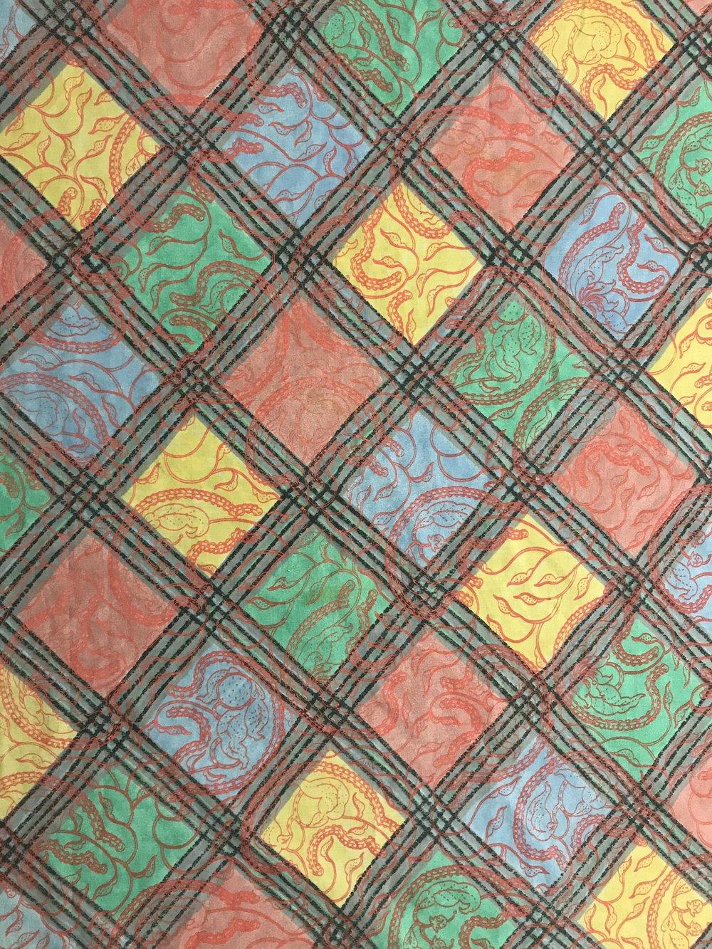 Flesh Orange – Used Fabric