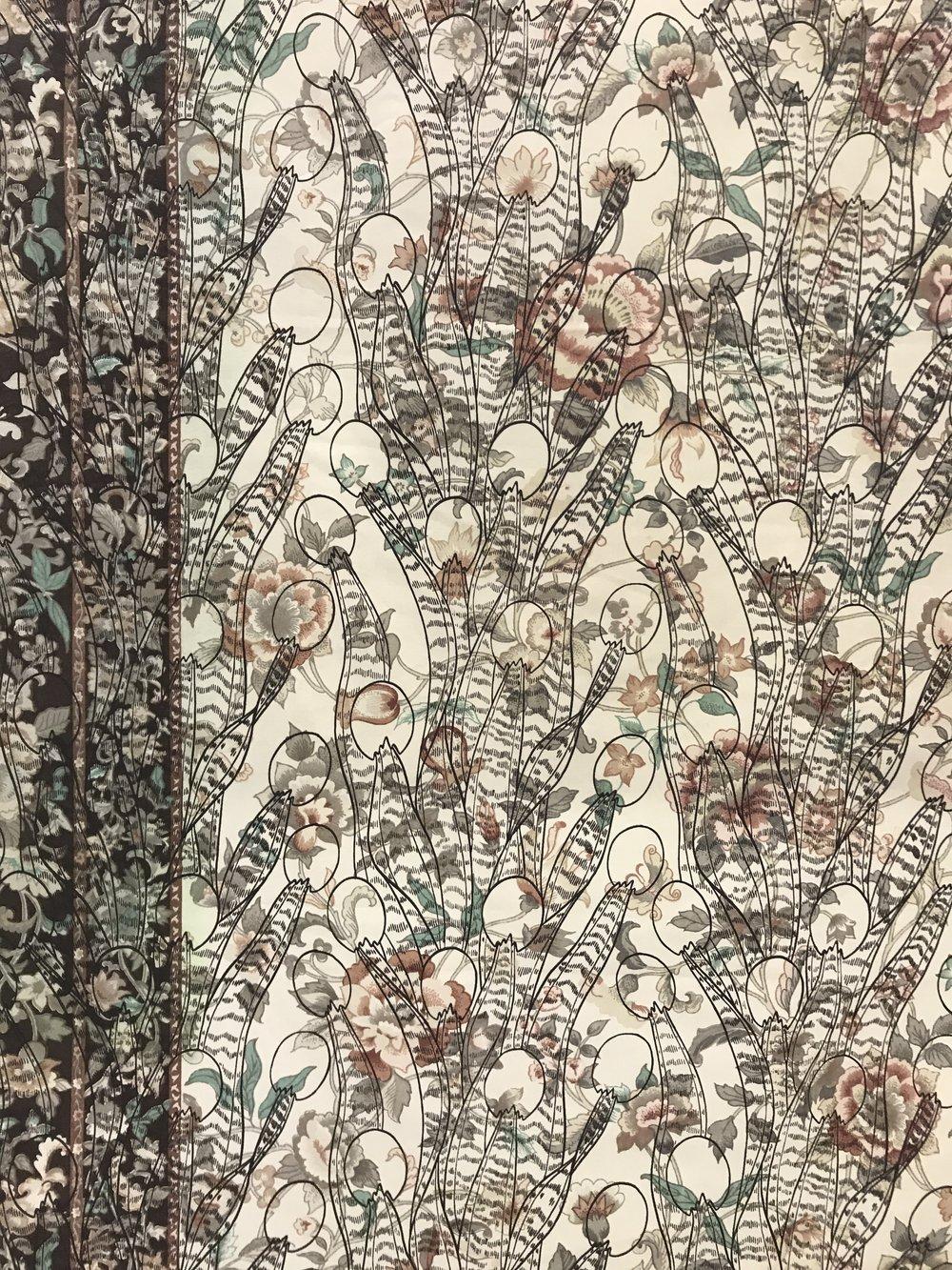 Cuckoo Jinn's Tongue – Used Fabric