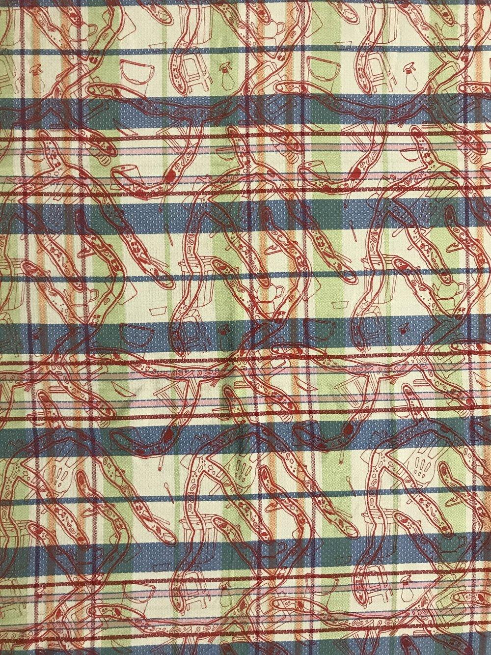 Miracle Pestalotiopsis – Used Fabric
