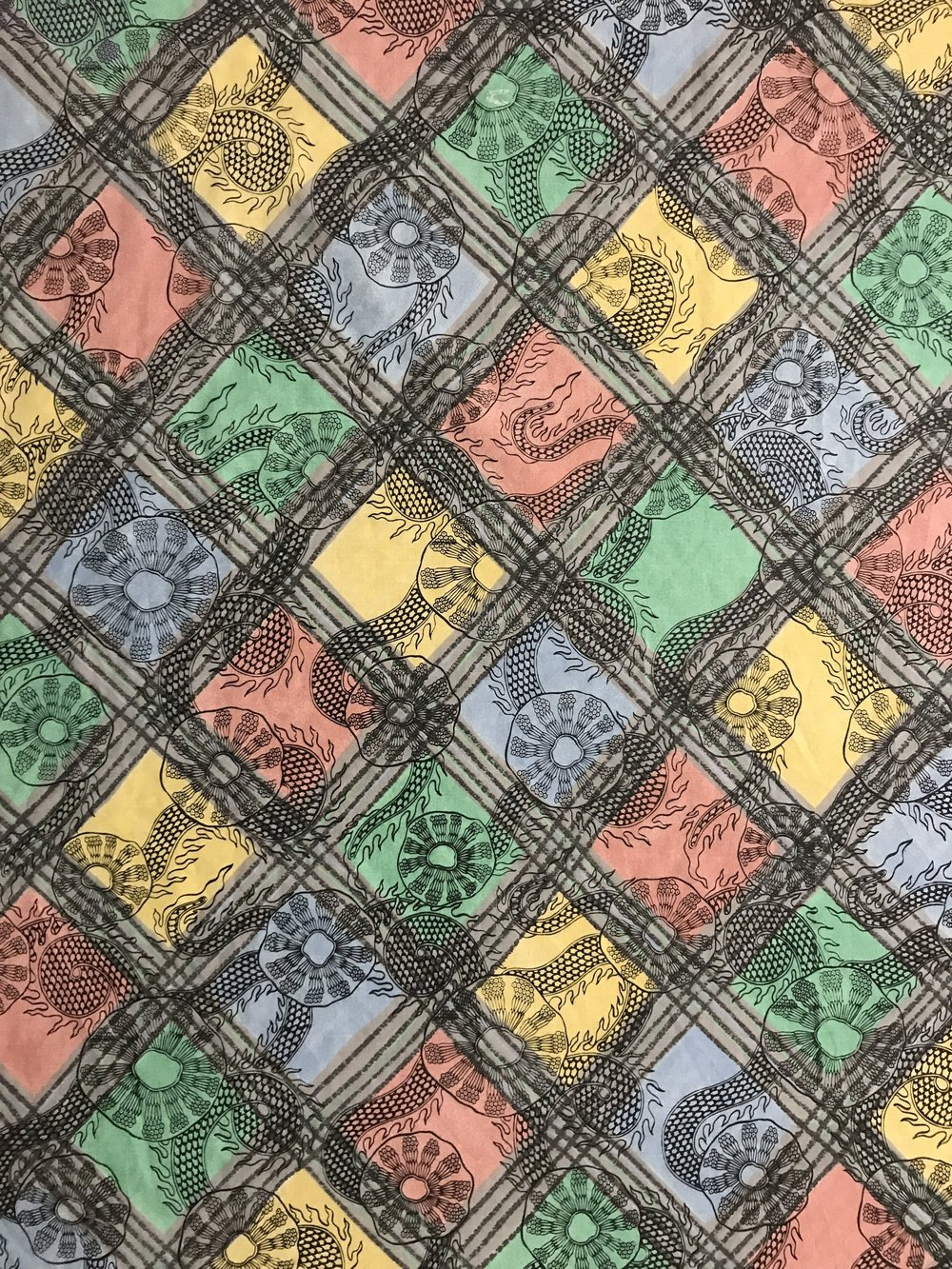 Screwpine – Used Fabric