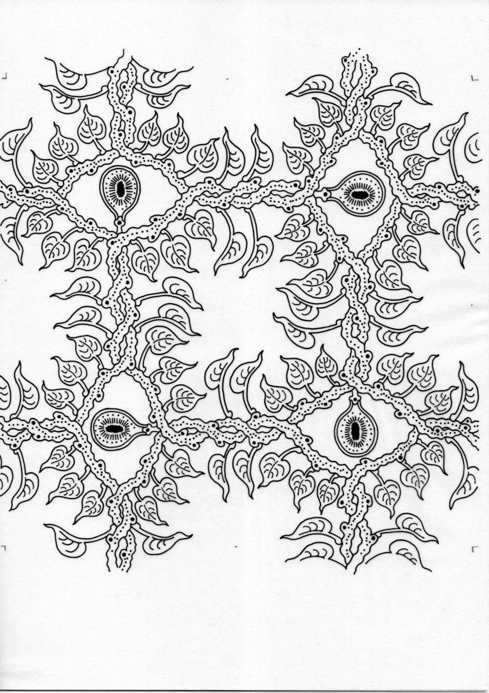 Stranger Bodhi – Inked Drawings