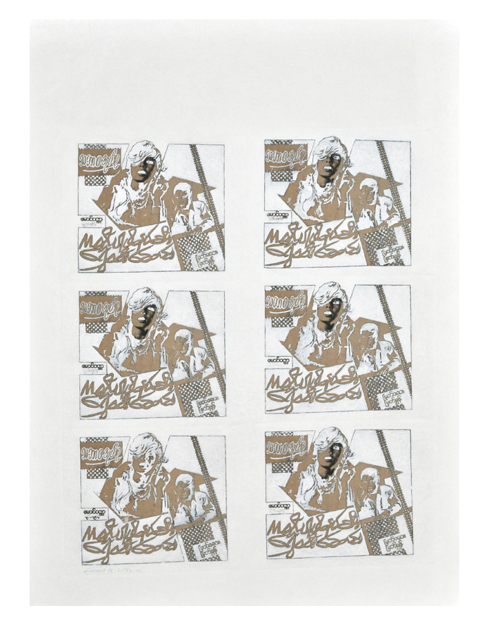 White Piece #0124: Velvet
