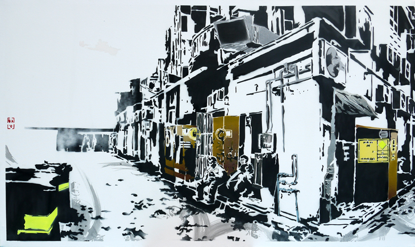 Back Alleys (Diptych I)