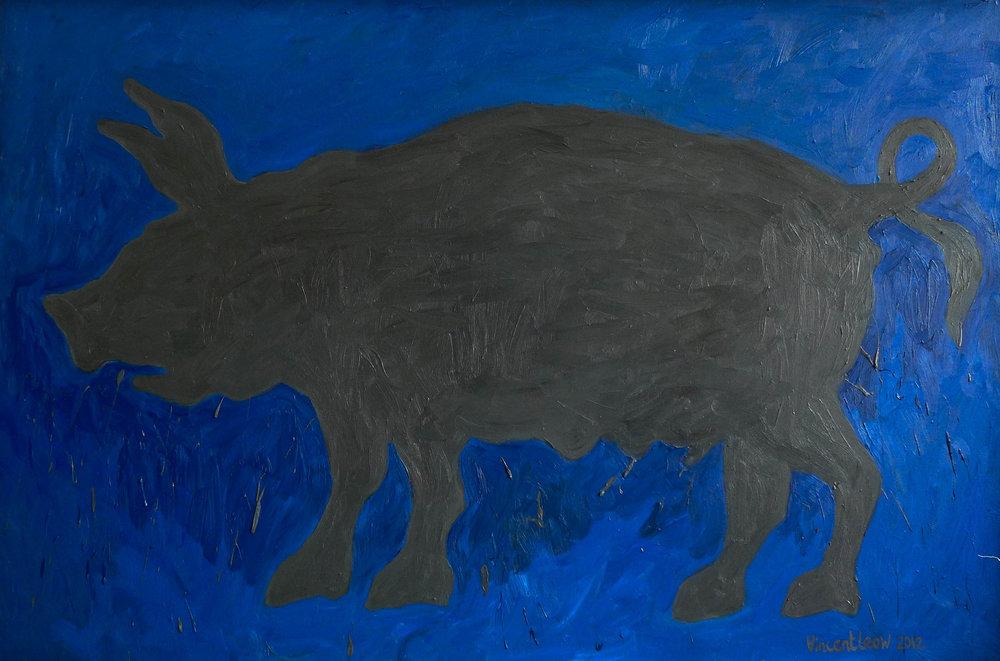 Grey Pig