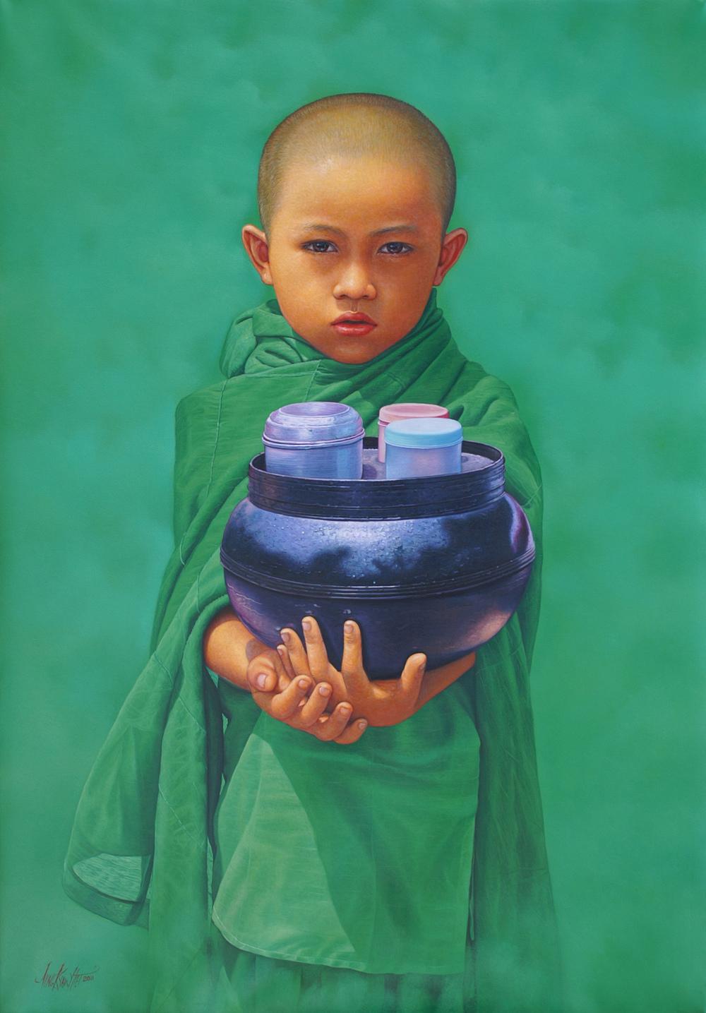 Little Novice in Green