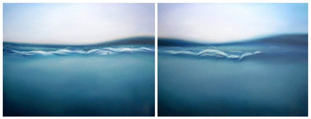 Breezing along with the Breeze - Diptych