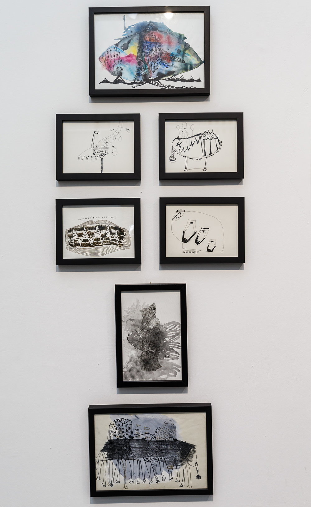 Framed Drawings