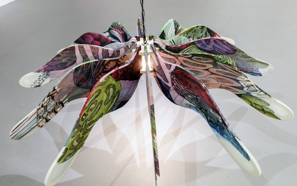 Chandelier, 12 Wings