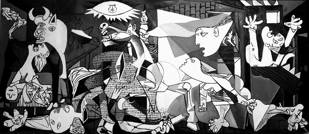 Beirut Guernica Striking From The Margins