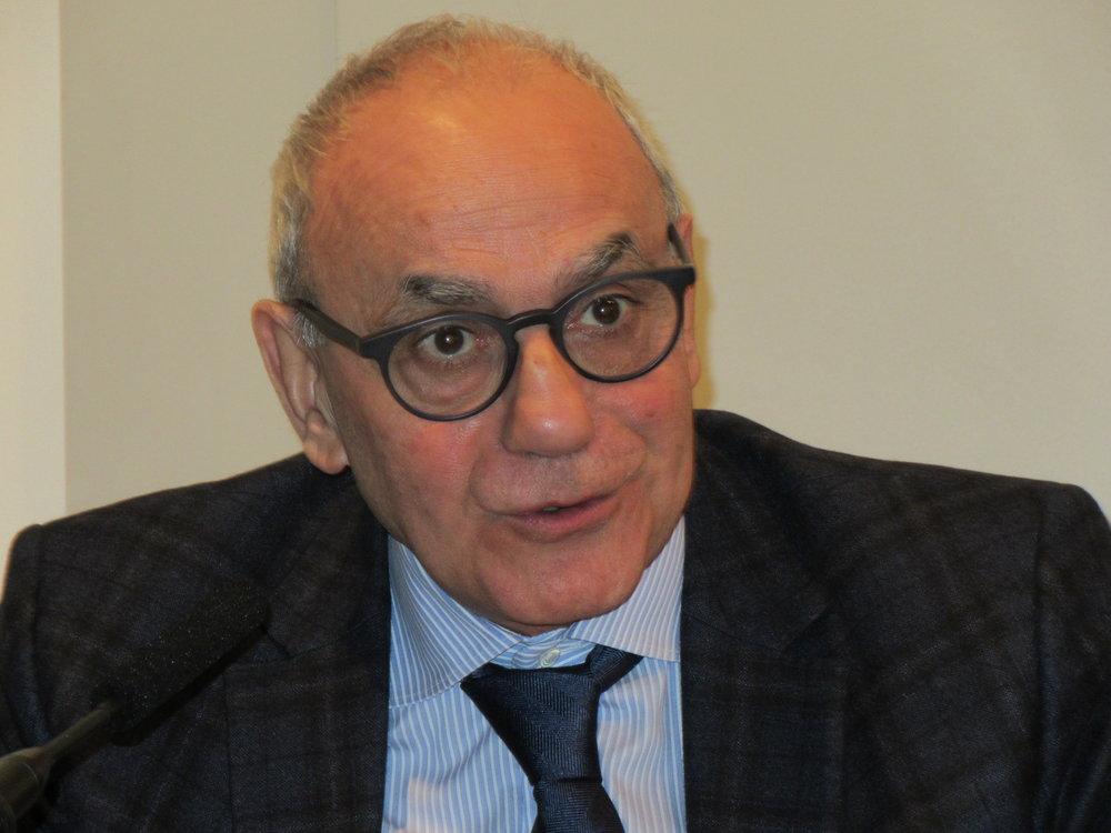 University Professor Emeritus and Project Initiator Prof Aziz Al-Azmeh