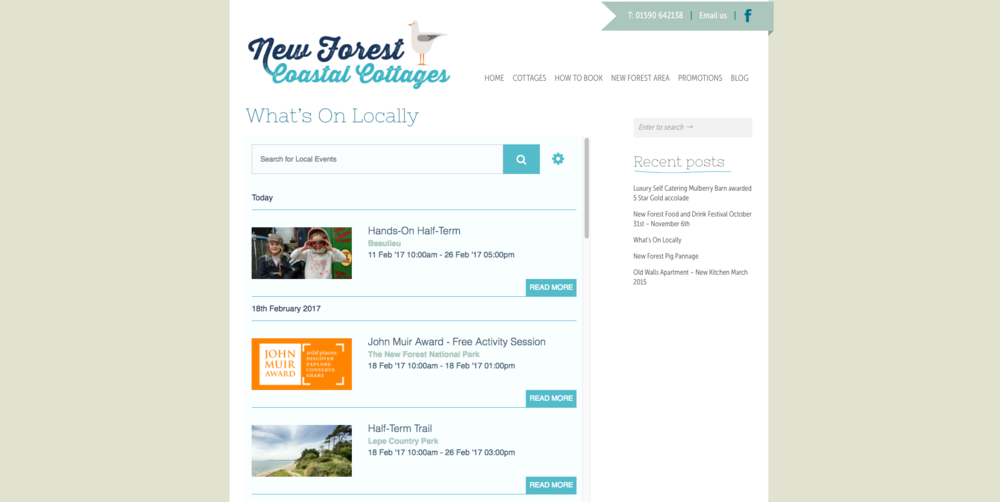 New Forest Coastal Cottages Events Widget.png