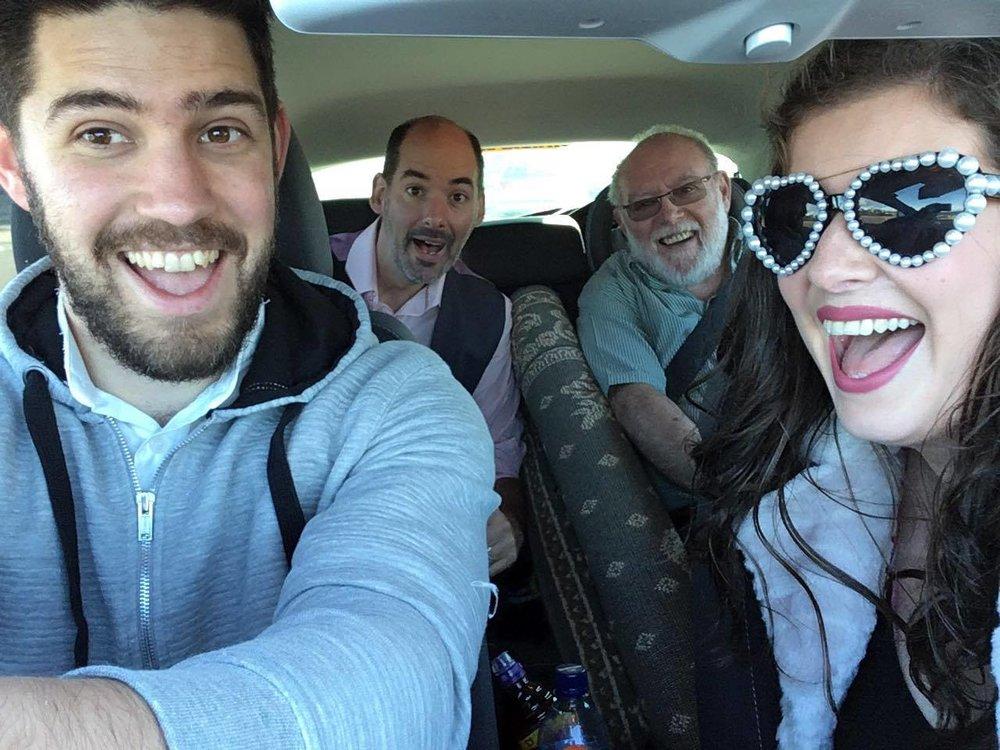 Gotta love a car selfie!