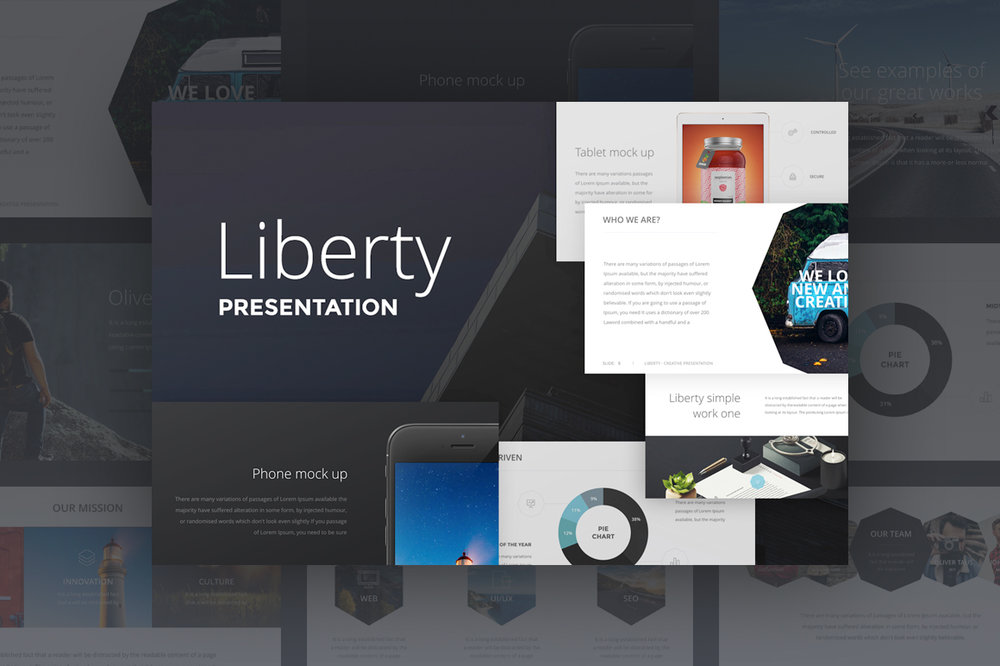 Liberty Presentation - Another business presentation that will help you become even more successful.