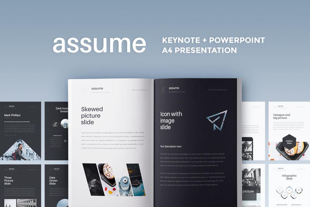 A4 Assume Presentation -