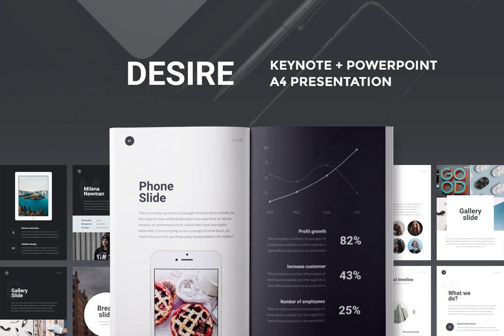 A4 Desire Presentation -