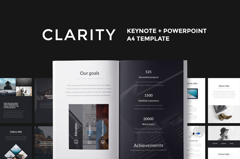 A4 Clarity Presentation -