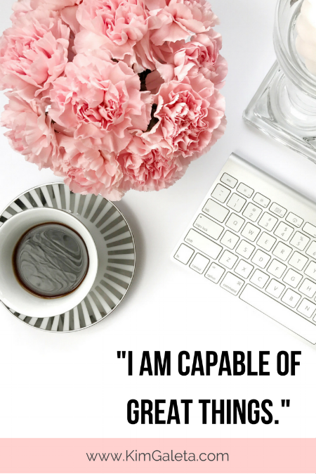 Wow, I needed this! 5 self-affirmations to keep you motivated!