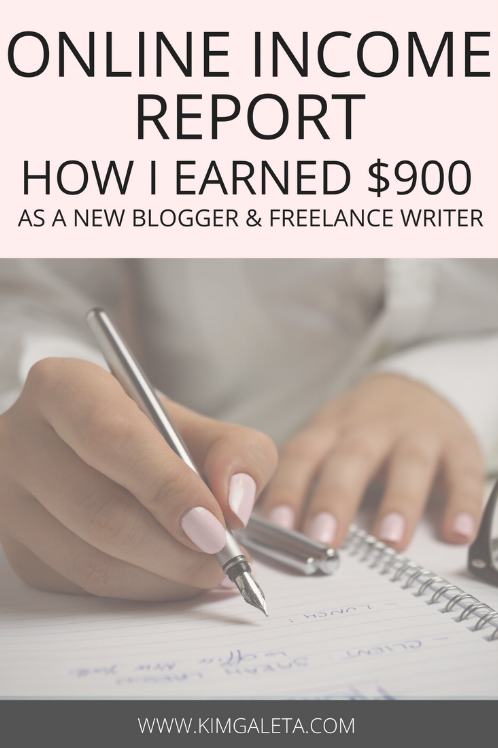Want to make money blogging? Learn how this new blogger made close to $900 as a part-time blogger working from home.