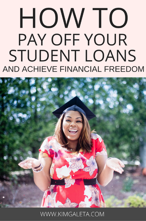 Burdened by your student loans? Learn how to pay off your student loans quickly in 3 steps. Learn what it means to refinance student loans, debt snowball and debt avalanche. Gain financial freedom.
