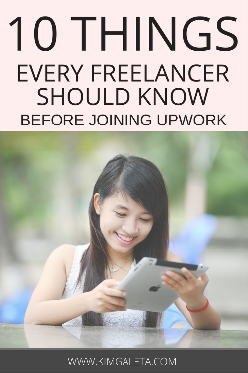 Are you a freelancer? Then you need these 10 Upwork tips. These Upwork tips will help you land your very first job on Upwork.