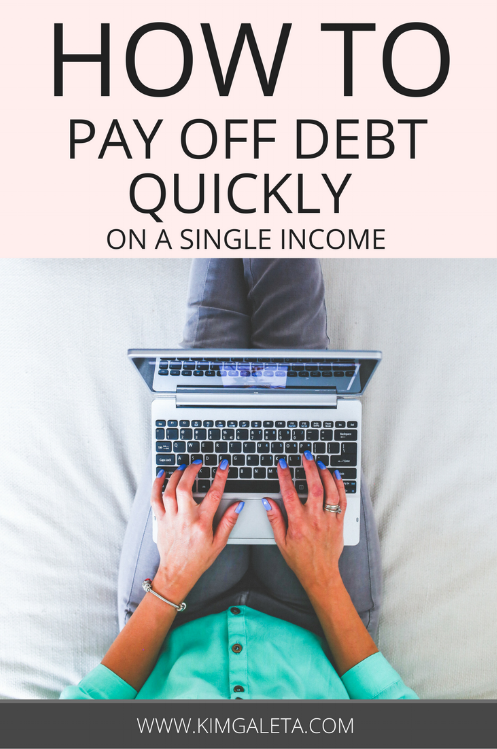 Want to learn how to pay off debt? These tips will show you how to pay off debt quickly even if you're living on a single income. Financial freedom is possible if you stick to a solid plan.