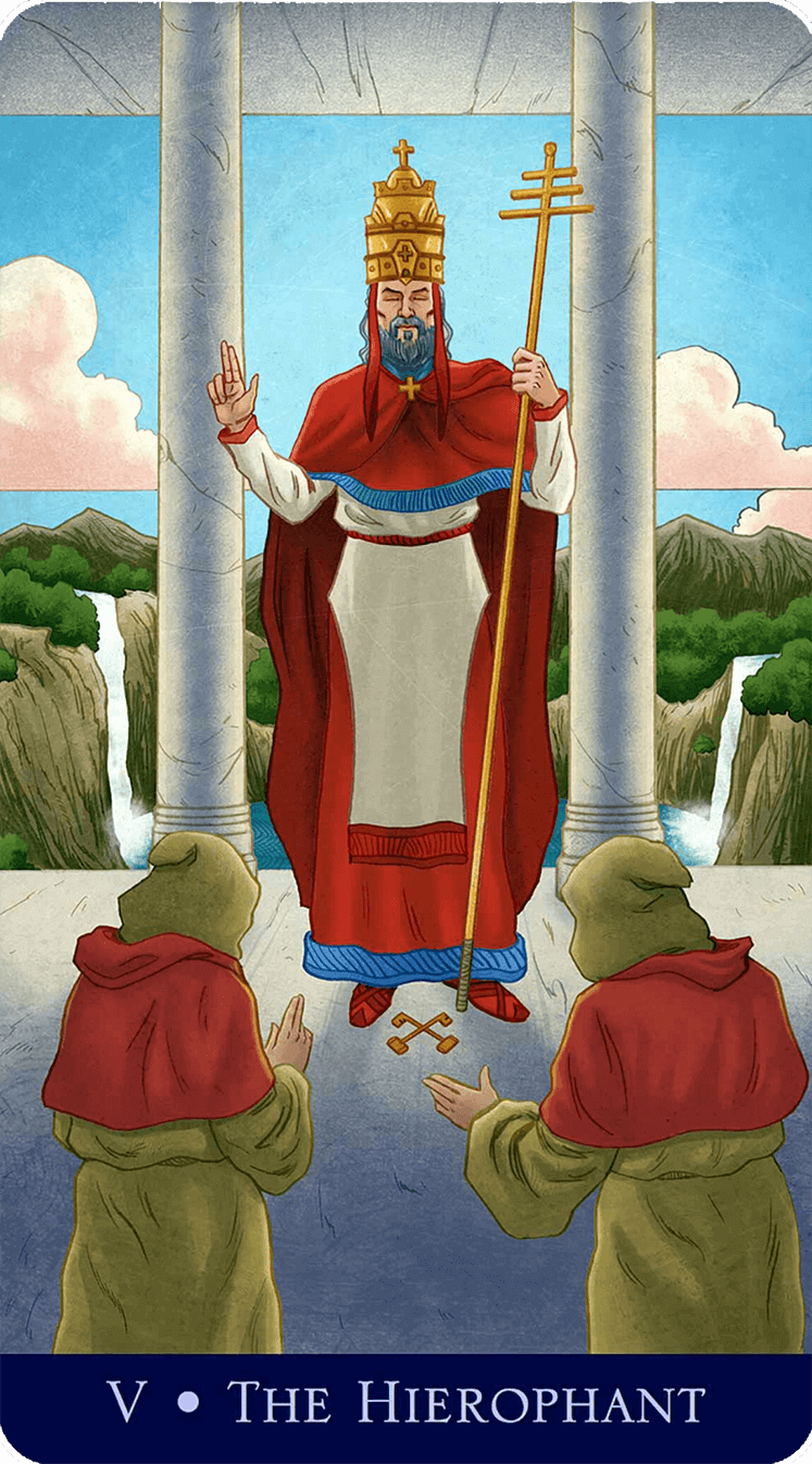 The Heirophant Tarot Card Meaning