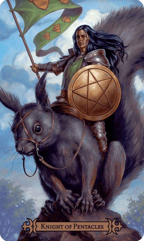 Knight of Pentacles Tarot Card Meaning