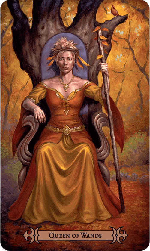Queen of Wands Tarot Card Meaning