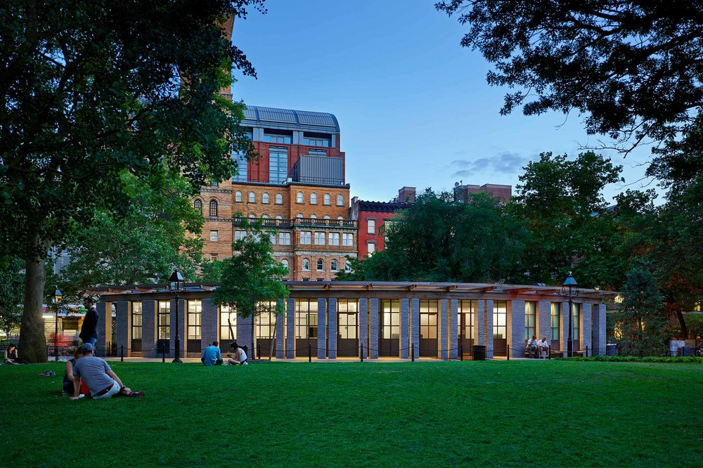 Washington Square Park House BKSK Architects New York, NY