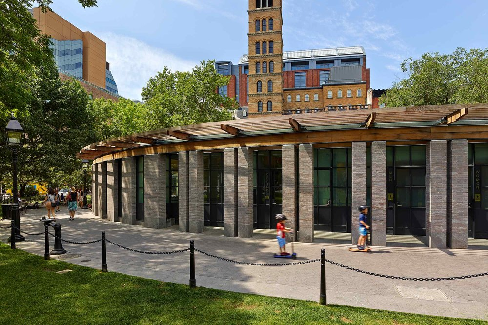 Washington Square Park House BKSK Architects New York, NY