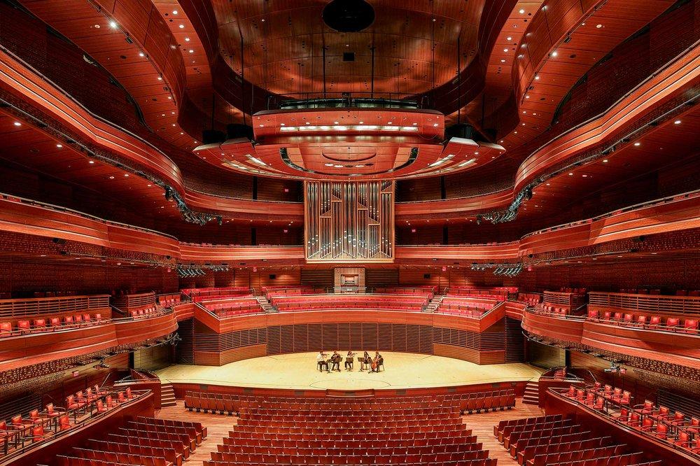 Verizon Hall Acoustic Renovation Voith & Mactavish Architects Philadelphia, PA