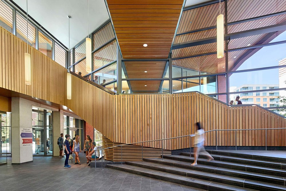 University of Pennsylvania New College House Bohlin Cywinski Jackson Philadelphia, PA