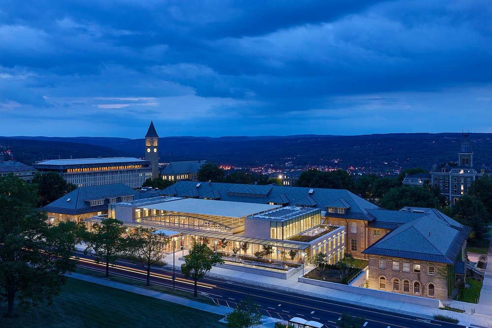 Cornell University Klarman Hall Stantec & NK Architects Cornell, NY