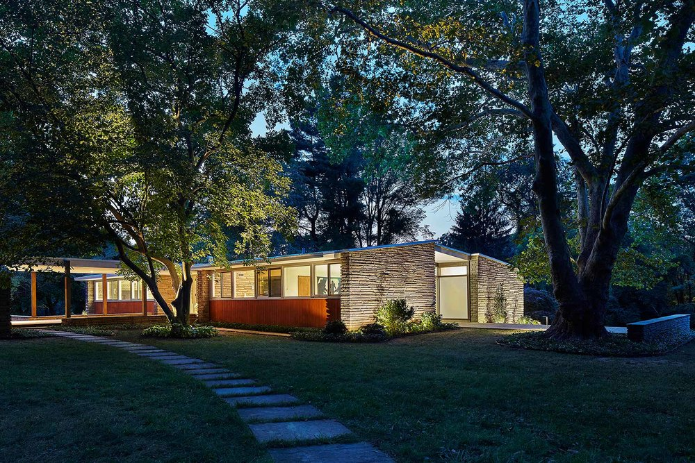 Kling Midcentury House k YODER design Gladwyne, PA